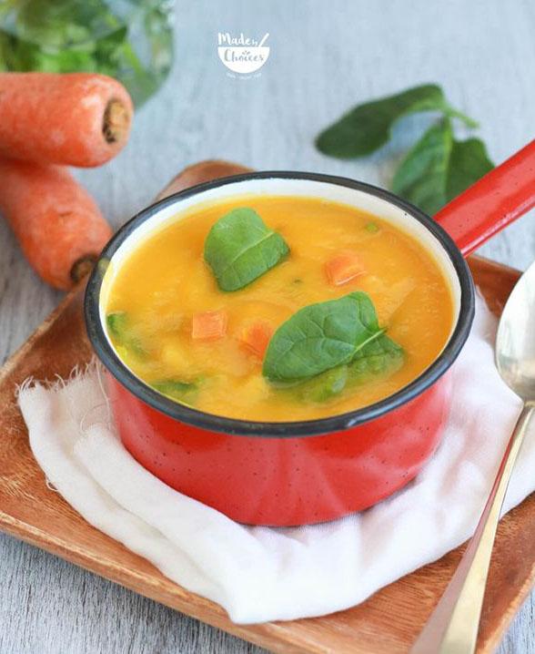 Sopa de legumes básica